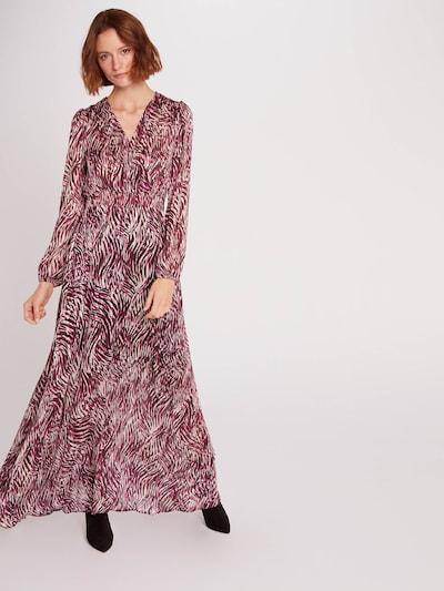Morgan Kleid 'RODIN' in braun / pink / weiß, Modelansicht