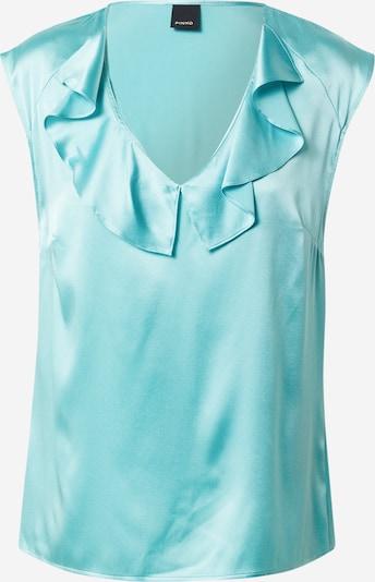 PINKO Блуза 'FASCINOSO' в нефритено зелено, Преглед на продукта