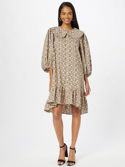 SAINT TROPEZ Shirt Dress 'Heather' in Mustard / Khaki / Pink / Black / White, View model