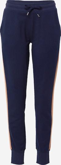 Pantaloni Mey di colore beige / blu notte / bianco, Visualizzazione prodotti