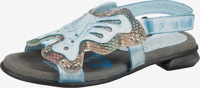 Corley originals Sandale in hellblau / mischfarben, Produktansicht