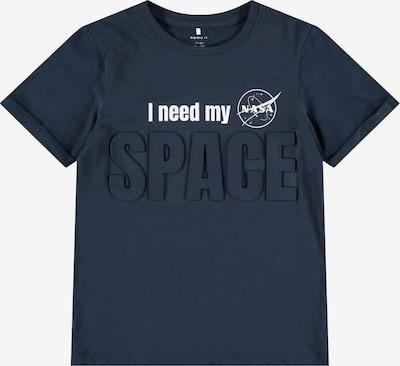 NAME IT T-Shirt 'Nasa Hampus' en bleu foncé / blanc, Vue avec produit