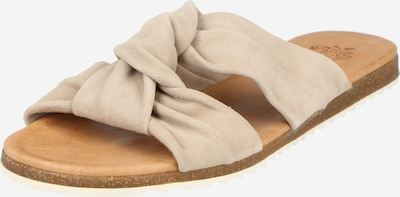 Apple of Eden Pantolette in taupe, Produktansicht