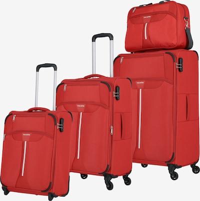 TRAVELITE Kofferset 'Speedline' in de kleur Rood / Zwart: Vooraanzicht