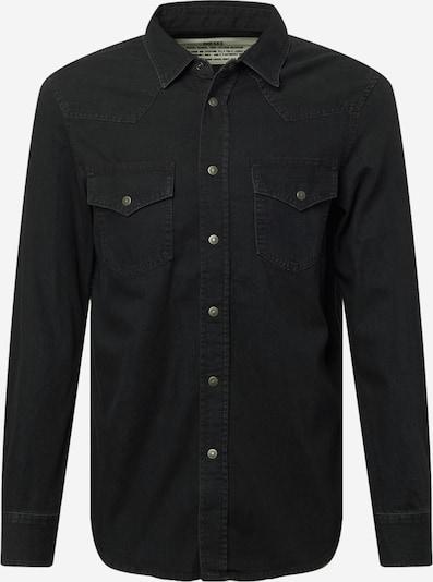 DIESEL Overhemd 'EAST' in de kleur Zwart, Productweergave