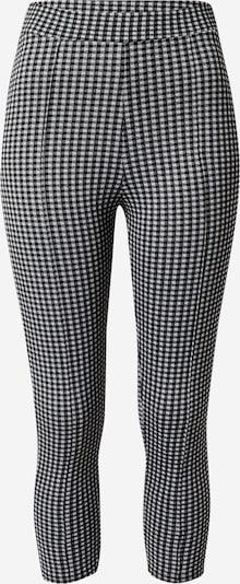 Kelnės iš Miss Selfridge , spalva - juoda / balta: Vaizdas iš priekio