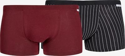 HUBER Pants 'Smart Comfort' in dunkelrot, Produktansicht