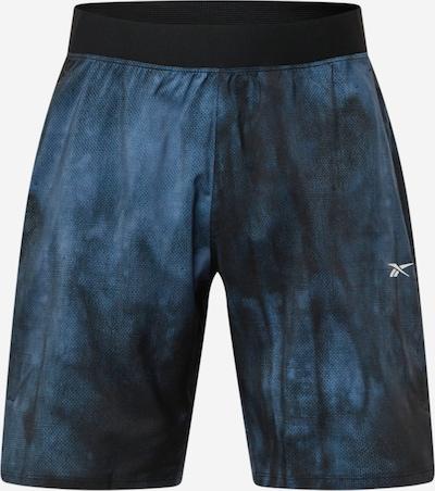 Reebok Sport Sportshorts 'Epic' in taubenblau / schwarz, Produktansicht