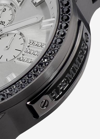 HAEMMER Uhr in schwarz / silber, Produktansicht
