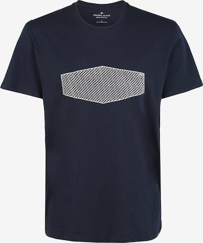 Cross Jeans T-Shirt in blau / weiß, Produktansicht