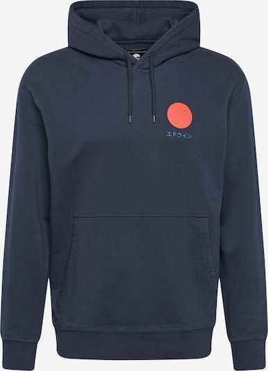 EDWIN Sweatshirt 'Japanese Sun' in Navy, Item view