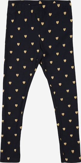NAME IT Leggings 'VIVIAN' in dunkelblau / gold, Produktansicht