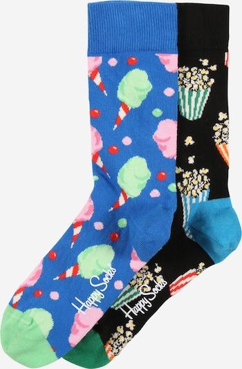 Happy Socks Socken 'Snacks' in navy / royalblau / mischfarben, Produktansicht
