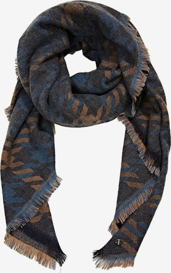 ESPRIT Schal in dunkelblau / braun, Produktansicht