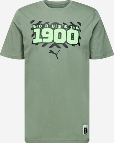 PUMA Sportshirt in grün / kiwi / schwarz, Produktansicht