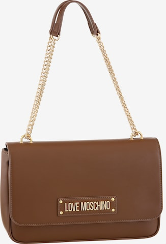 Love Moschino Shoulder Bag in Brown