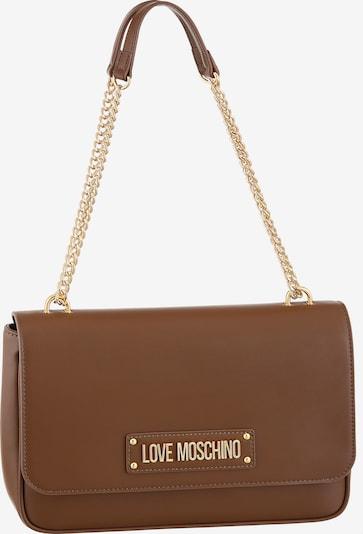 Love Moschino Tasche in dunkelbraun, Produktansicht