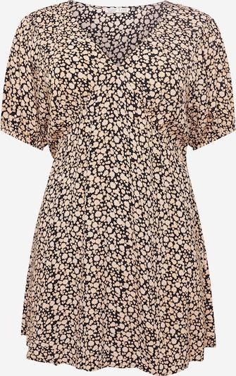 Cotton On Curve Jurk 'MIRANDA' in de kleur Geel / Zwart, Productweergave