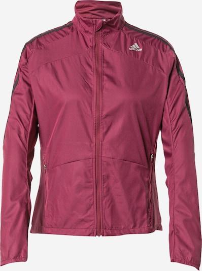 ADIDAS PERFORMANCE Athletic Jacket in Merlot / Black, Item view