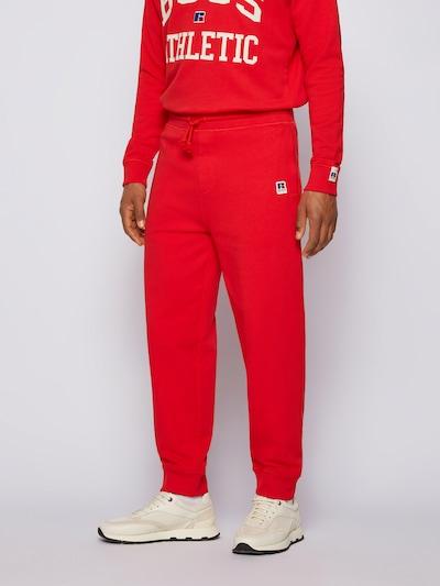 BOSS Kalhoty 'Jafa' - modrá / červená / černá / bílá, Model/ka
