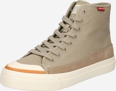 LEVI'S Zapatillas deportivas altas 'Square' en marrón claro / naranja / blanco, Vista del producto