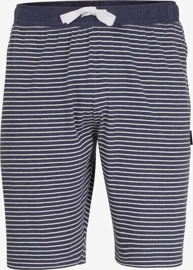 CECEBA Pyjamahose in dunkelgrau / weiß, Produktansicht