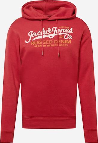 Sweat-shirt 'BOOSTER' JACK & JONES en rouge