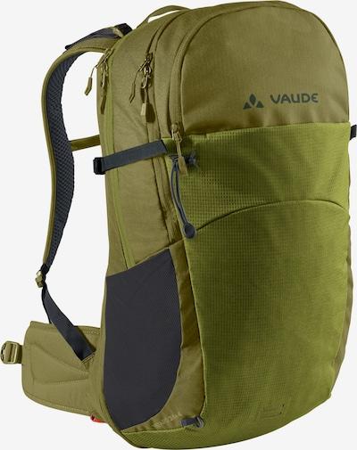 VAUDE Rucksack in grau / grün, Produktansicht
