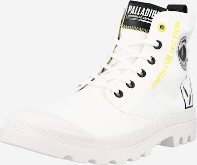 Palladium Stiefel 'PAMPA' in gelb / schwarz / weiß, Produktansicht