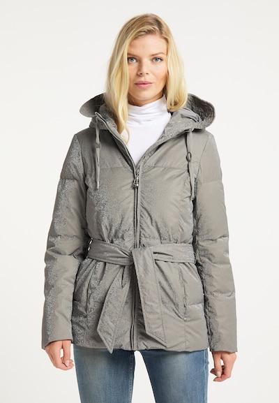 DreiMaster Vintage Jacke in greige: Frontalansicht