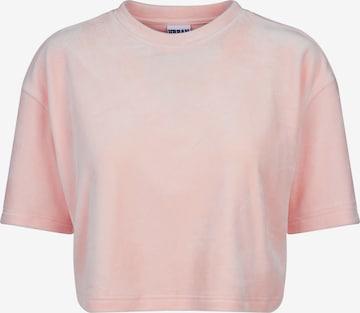 Urban Classics Shirt in Roze