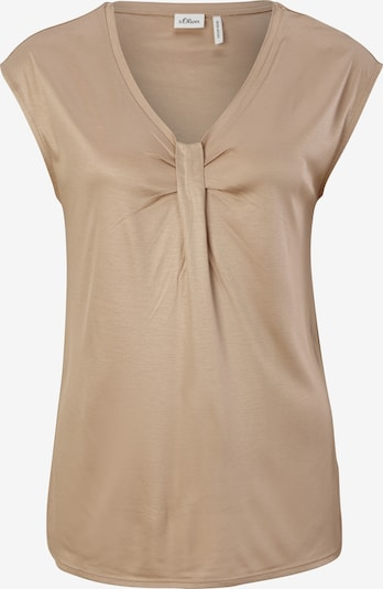 s.Oliver BLACK LABEL Shirt in hellbeige, Produktansicht