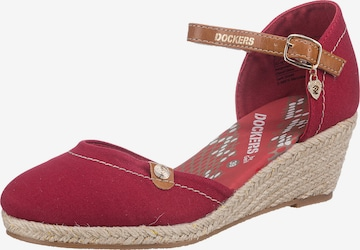 Dockers by Gerli Sandals in Red