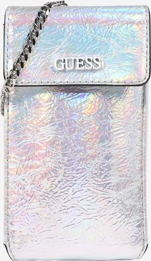 GUESS Tasche 'PICNIC CHIT CHAT' in silber, Produktansicht