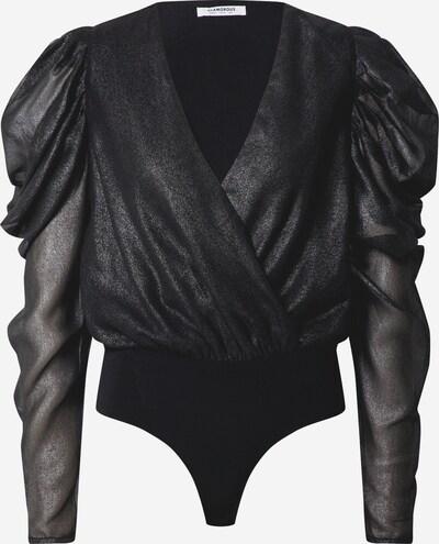 GLAMOROUS Blusenbody in schwarz, Produktansicht