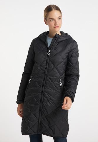 DreiMaster Maritim Between-Seasons Coat in Black
