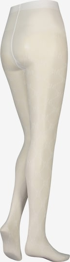 hunkemöller x NA-KD Strumpfhose 'HKMxNA-KD' in weiß, Produktansicht
