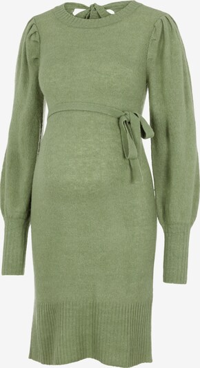 MAMALICIOUS Strickkleid 'Neva' in grasgrün, Produktansicht