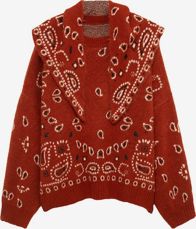 MANGO Pullover in braun, Produktansicht