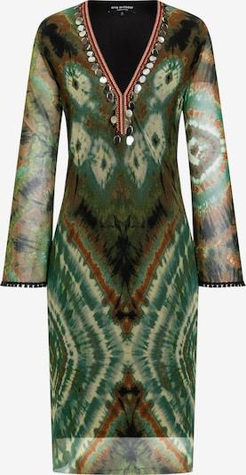 Ana Alcazar Jurk ' Asmer ' in de kleur Groen, Productweergave