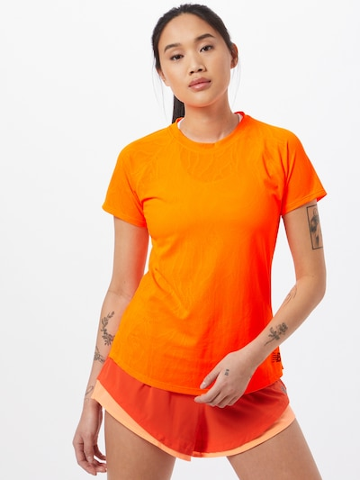 new balance Toiminnallinen paita 'FUEL' värissä sahrami / musta: Näkymä edestä