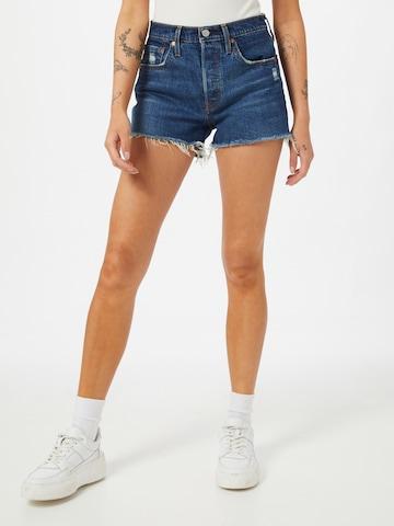 LEVI'S Jeans '501 Original' in Blau