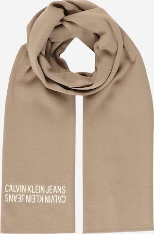 Écharpe Calvin Klein Jeans en beige