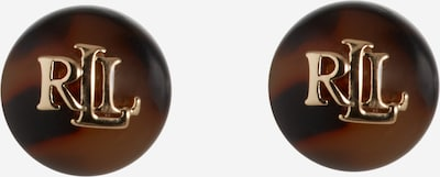 Lauren Ralph Lauren Náušnice - hnedá / zlatá / čierna, Produkt