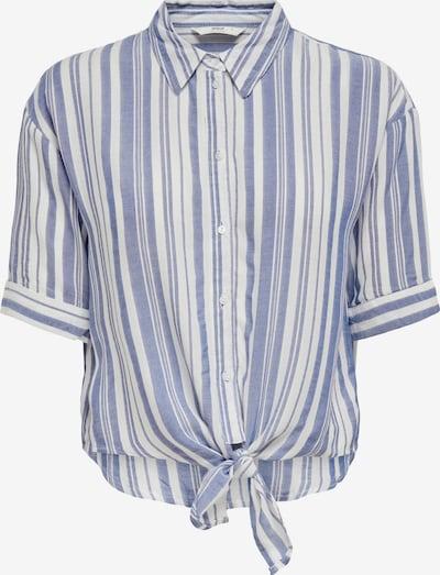 ONLY Блуза 'Holiday' в гълъбово синьо / бяло, Преглед на продукта