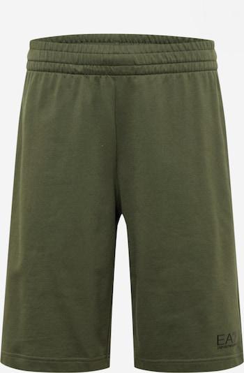 EA7 Emporio Armani Pantalon en olive / noir, Vue avec produit