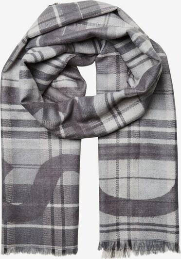 SELECTED HOMME Sjaal in de kleur Lichtgrijs / Donkergrijs, Productweergave
