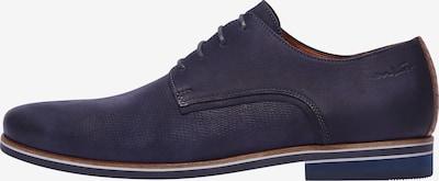 Van Lier Veterschoen 'Sabinus' in de kleur Donkerblauw, Productweergave