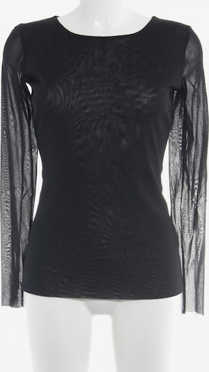 Young Couture by BARBARA SCHWARZER Longsleeve in M in schwarz: Frontalansicht
