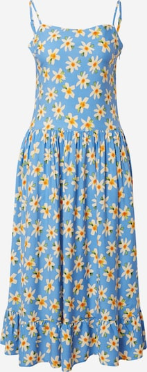Trendyol Letní šaty - kouřově modrá / žlutá / zelená / oranžová, Produkt